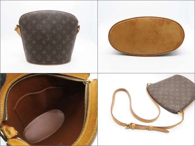 LOUIS VUITTON LOUIS VUITTON バッグ M51290  Monogram Drouot肩背袋啡色