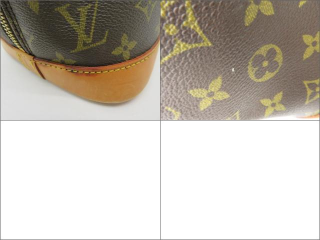LOUIS VUITTON LOUIS VUITTON バッグ M51130  Monogram Alma手挽袋啡色