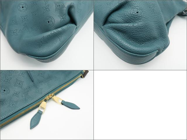 LOUIS VUITTON LOUIS VUITTON バッグ M93986  Mahina SelenePM肩背袋湖水綠色