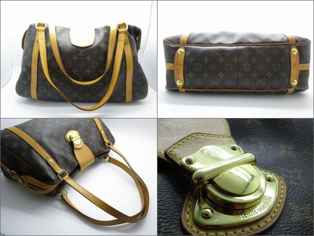 LOUIS VUITTON LOUIS VUITTON バッグ M51188 MOnogram Stresa GM肩背袋啡色