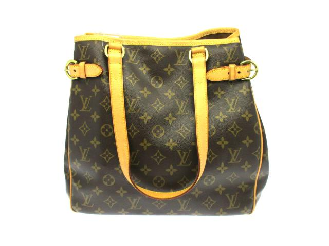 LOUIS VUITTON LOUIS VUITTON バッグ M51153 Monogram Batignolles Vertical肩背袋啡色