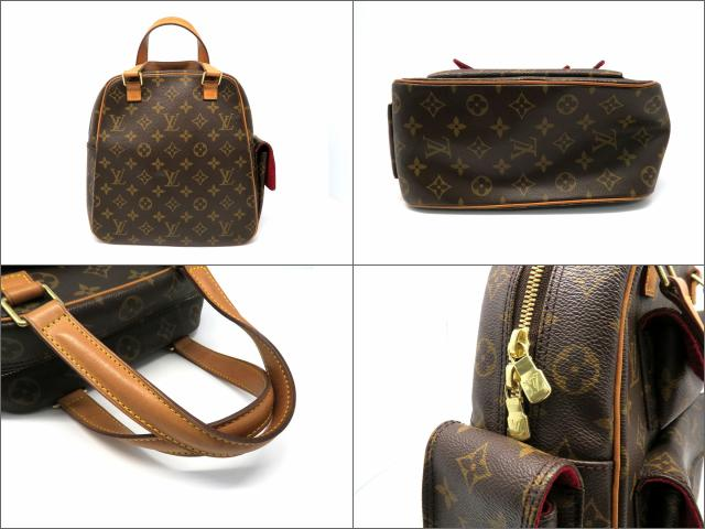 LOUIS VUITTON LOUIS VUITTON バッグ M51161 Monogram Excentri-cite手挽袋啡色